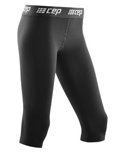 CEP 20-30 mmHg 3/4 Ski Compression Base Tights for Women