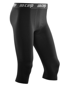 CEP 20-30 mmHg 3/4 Ski Compression Base Tights for Men