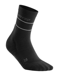 CEP Reflective 20-30 mmHg Mid Cut Compression Socks for Men